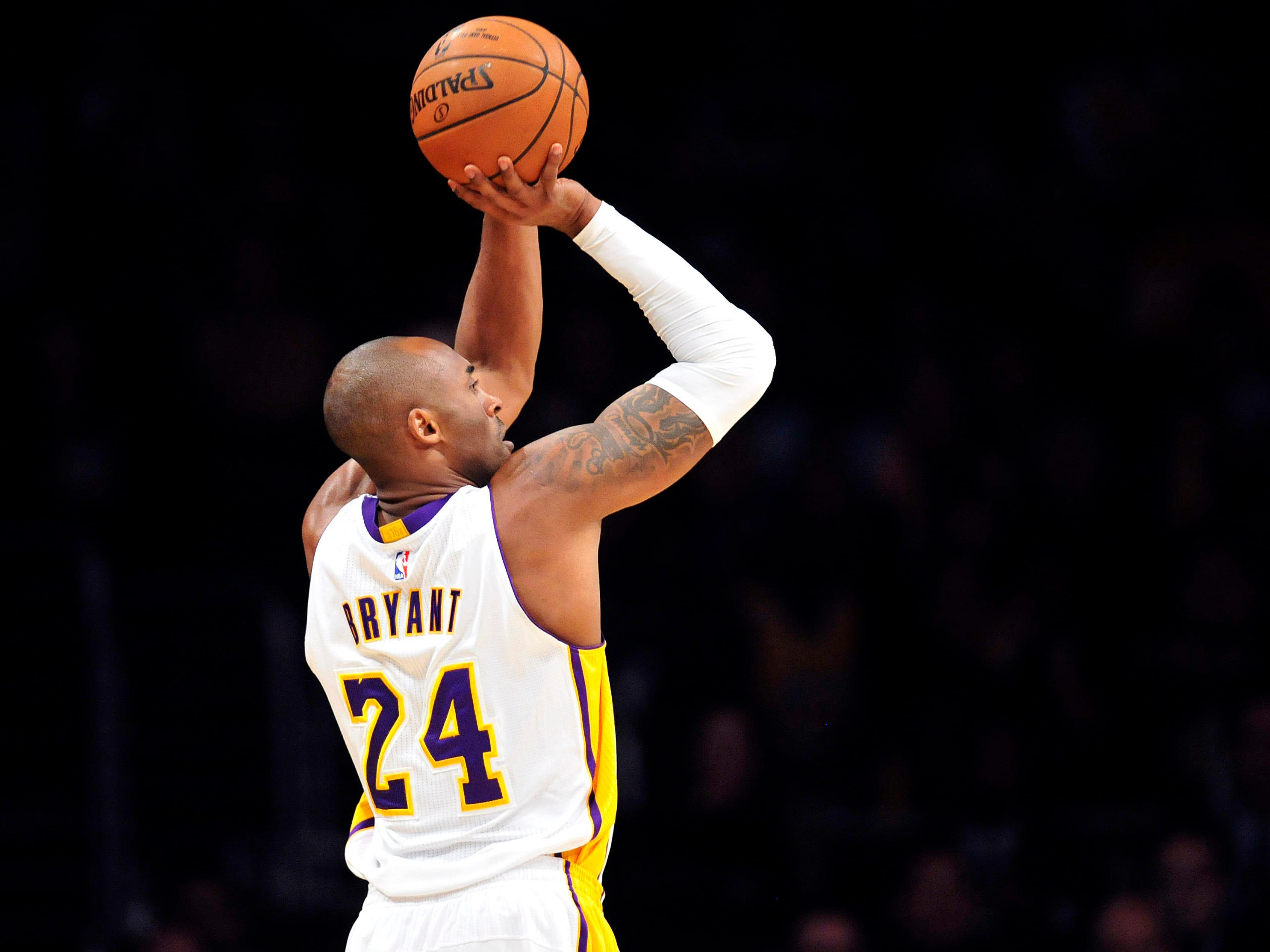 As of today, Kobe is third on the NBA All-Time scoring list, fourth on the postseason scoring list.