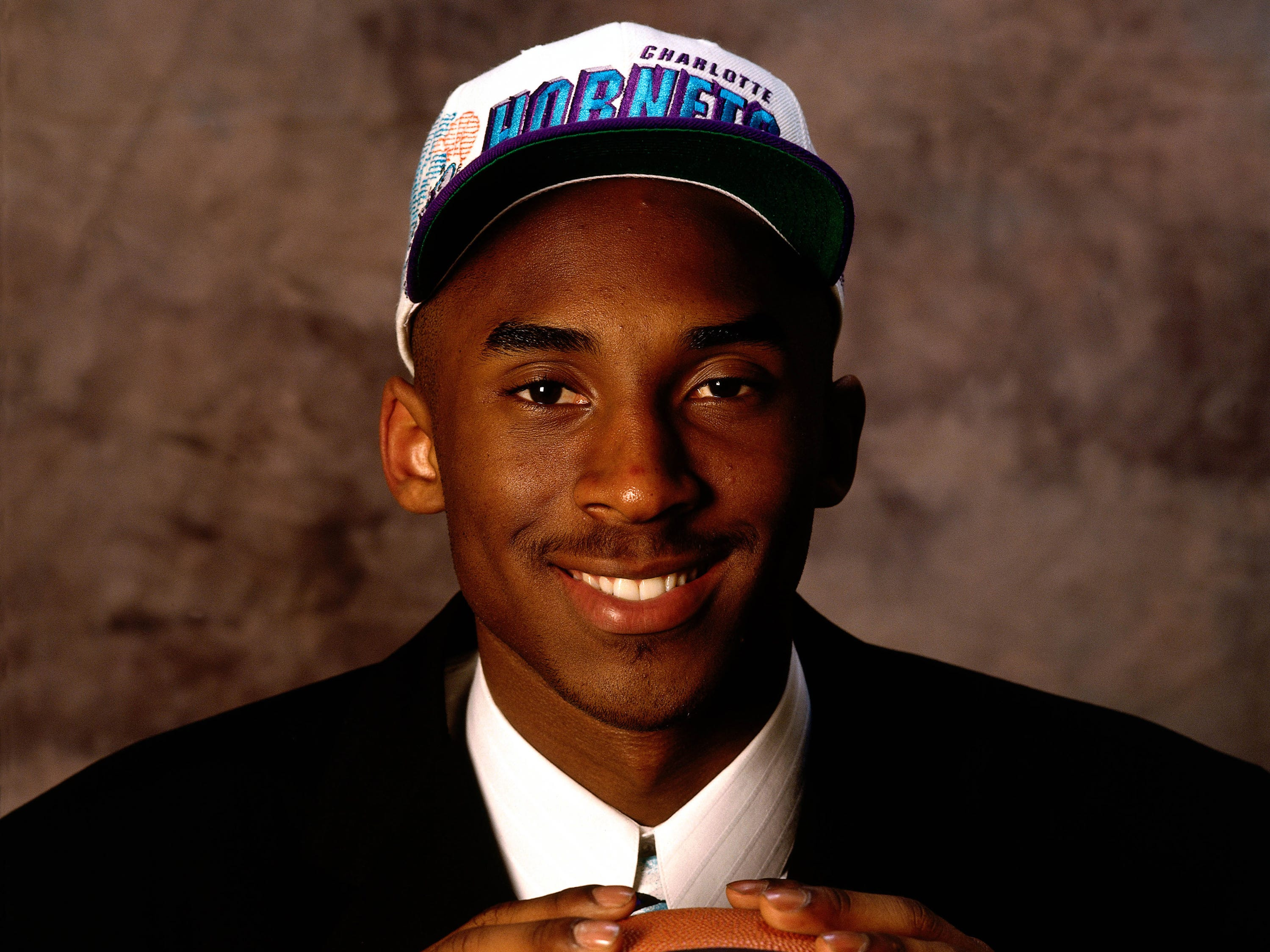 The Hornets drafted Kobe No. 13 overall in the 1996 NBA draft. Charlotte had agreed to a trade with the Lakers before the draft, which put one of the greatest careers in NBA history into motion.
