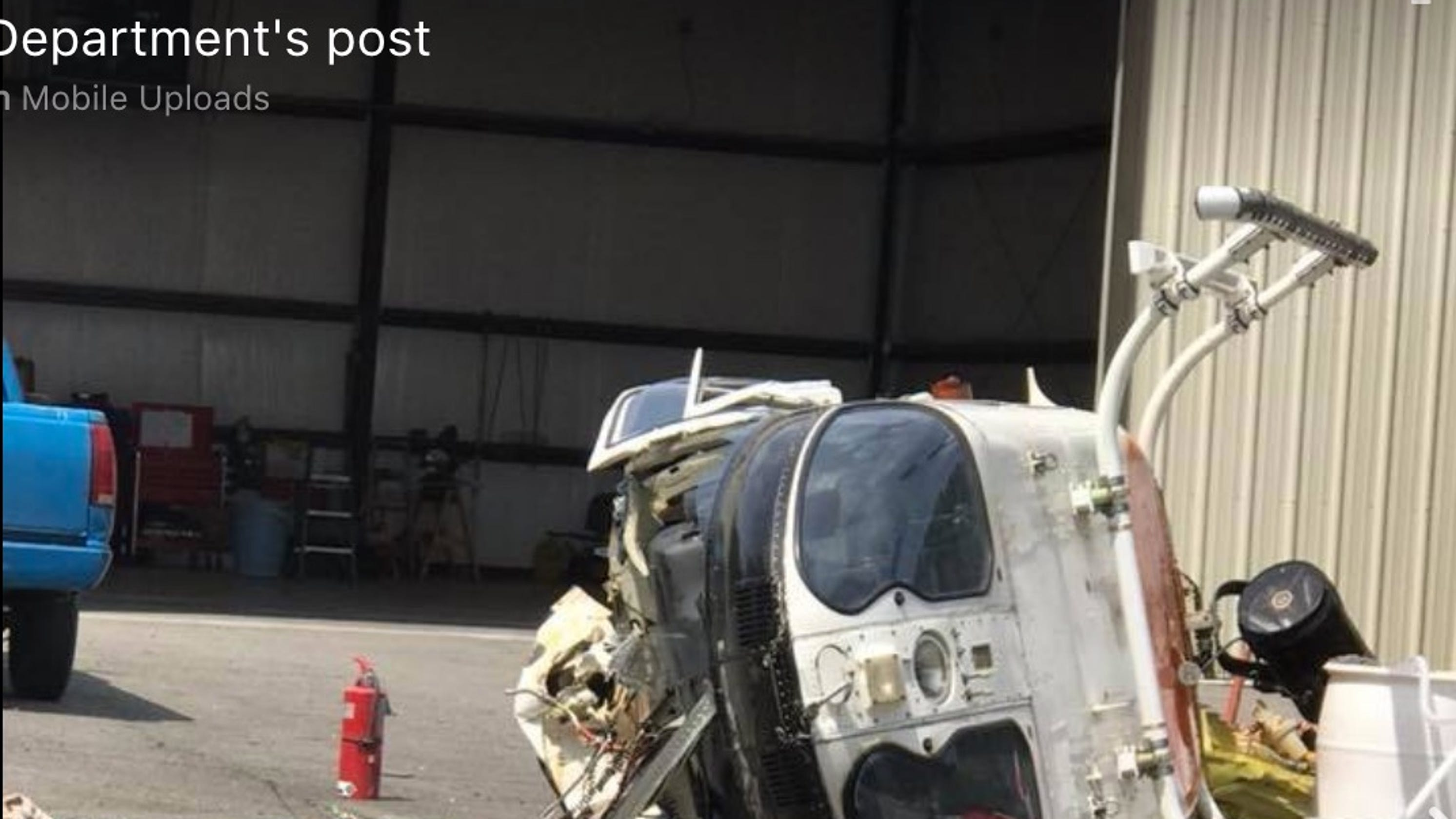 Police helicopter crash video from Little Rock, Arkansas released