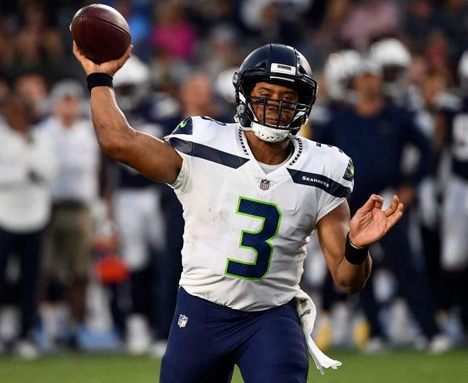 The Seahawks' Russell Wilson was the top-scoring fantasy quarterback in 2017 and likely will be among the first ones drafted in 2018. But don't pull the trigger too early on any quarterback; there will still be good ones available in the later rounds.