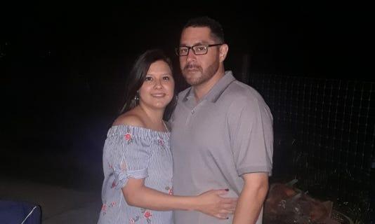 Rocio and Alfred Zuniga Hurricane Harvey IVF Couple
