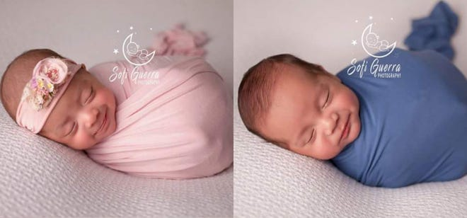 Parents Rocio and Alfred Zuniga swam through Hurricane Harvey to undergo an IVF procedure to conceive twins Abigail and Elijah. They were born prematurely at 31 weeks on March 25, 2018.