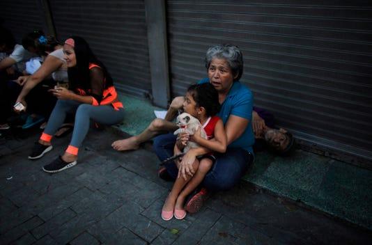 Ap Aptopix Venezuela Earthquake I Ven