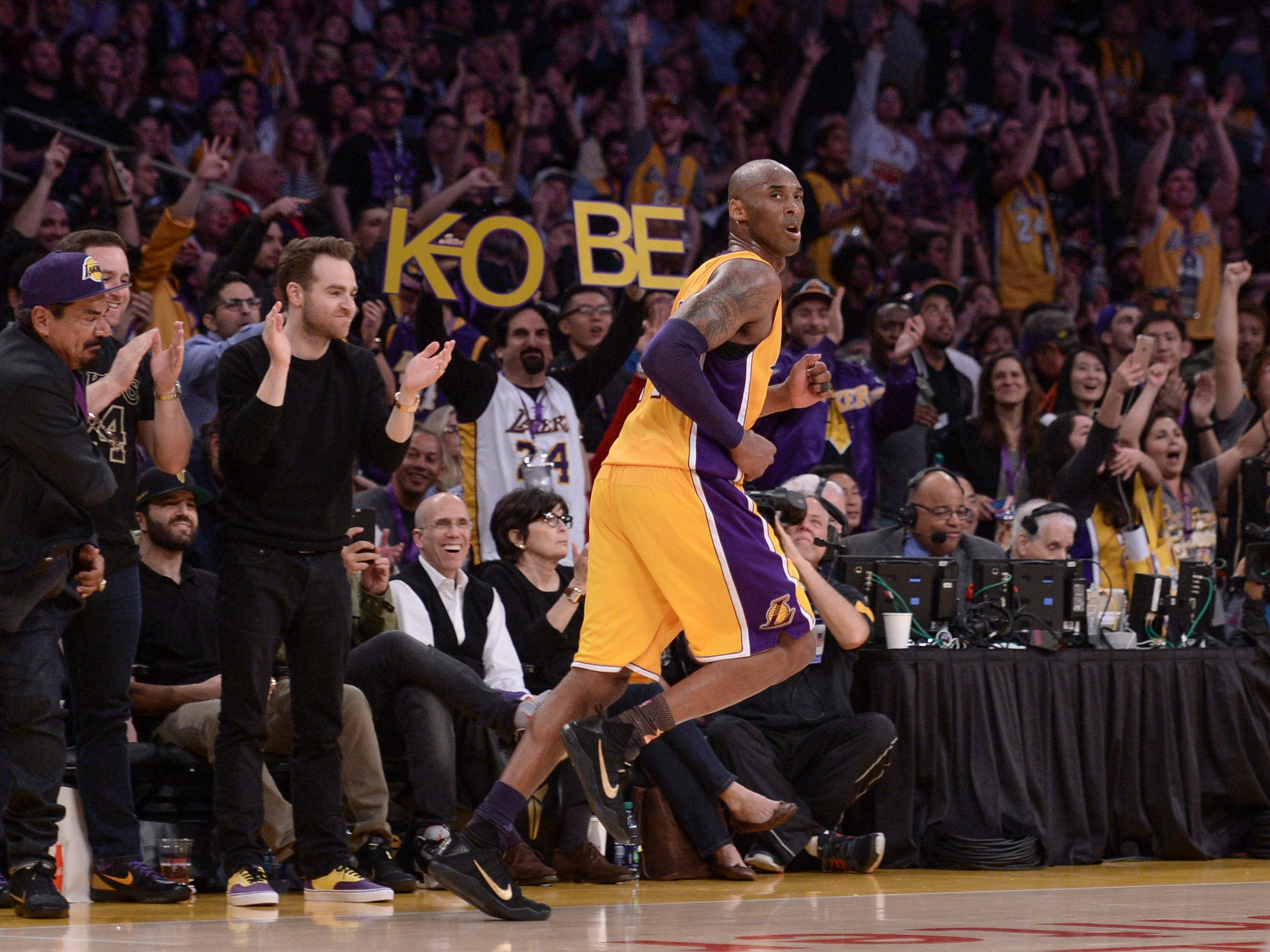 Kobe holds the NBA record for most seasons with one franchise for an entire career.