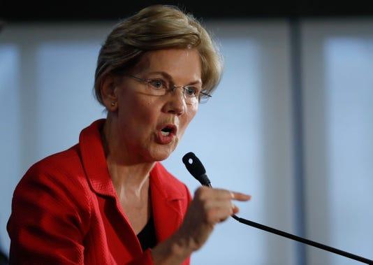 Ap Elizabeth Warren A Usa Dc