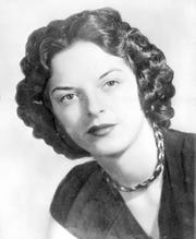 Carolyn Bryant in a 1955 photo when she was at the center of the trial of Emmett Till's alleged killers. After a divorce and second marriage, she is now known as Carolyn Bryant Donham.