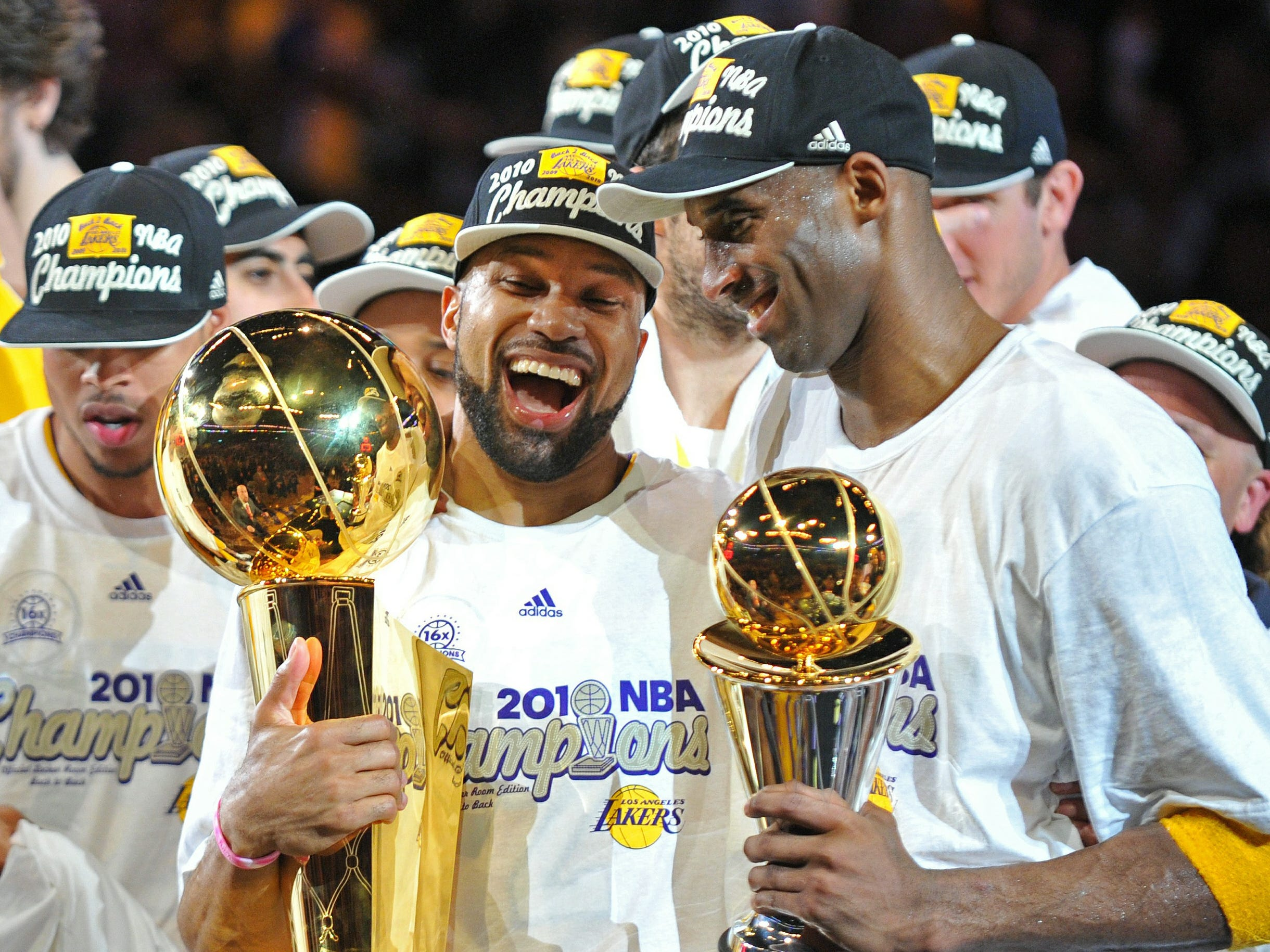 His second NBA Finals MVP came the next season in 2010 against the Boston Celtics.
