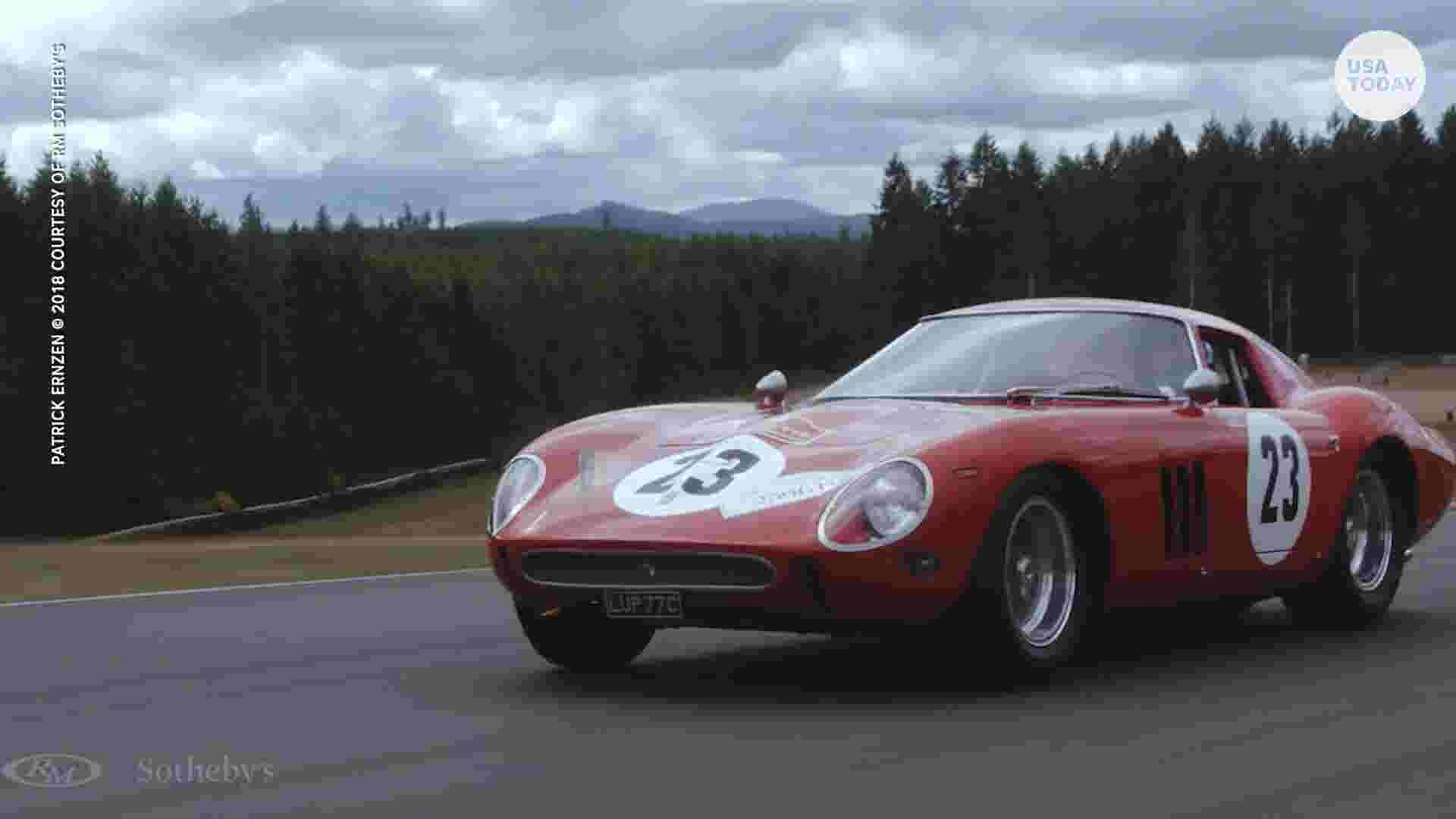 monterey car show 2018: ferrari gto could sell for $60 million