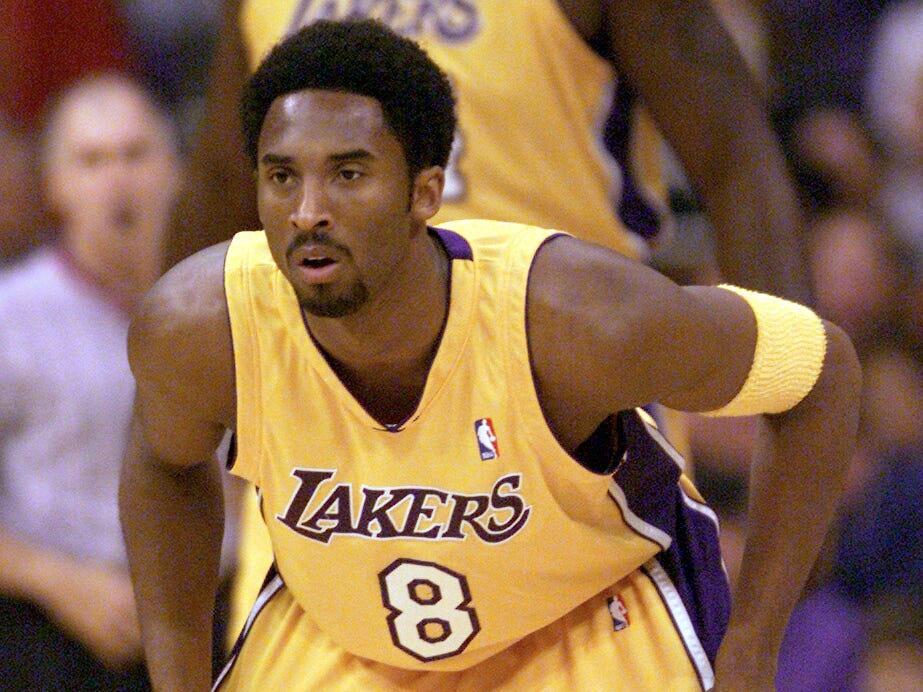 Kobe made the NBA All-Defensive first team nine times in his career, the first coming in 2000.