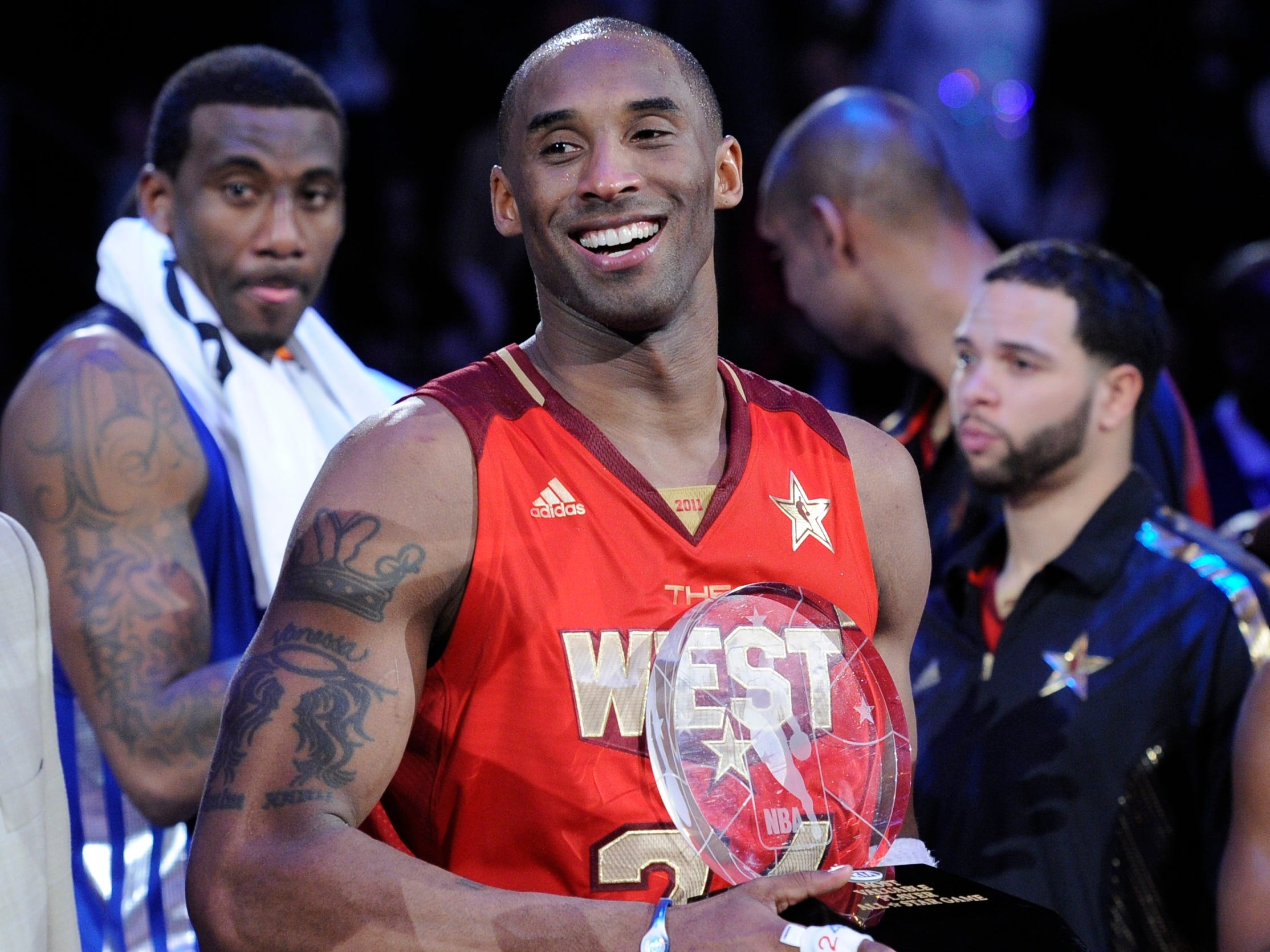 Kobe was MVP of the All-Star Game four times in his career.