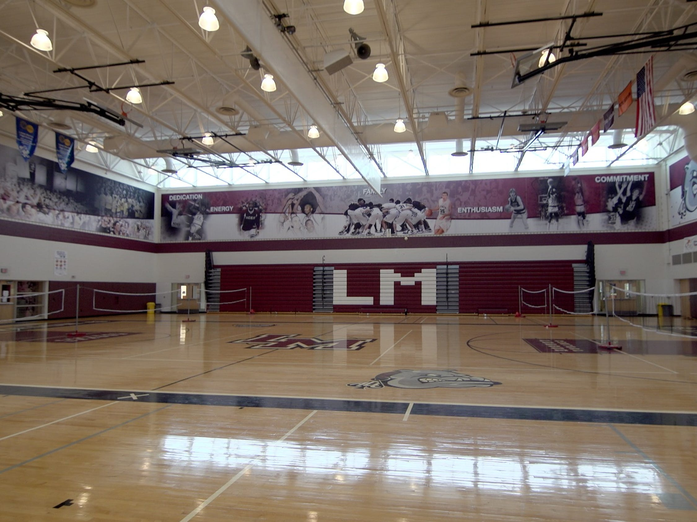 The gym at Lower Merion High School, Kobe's alma mater, is now named after him.