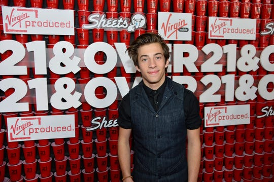Jimmy Bennett at a premiere in Los Angeles in February 2013.