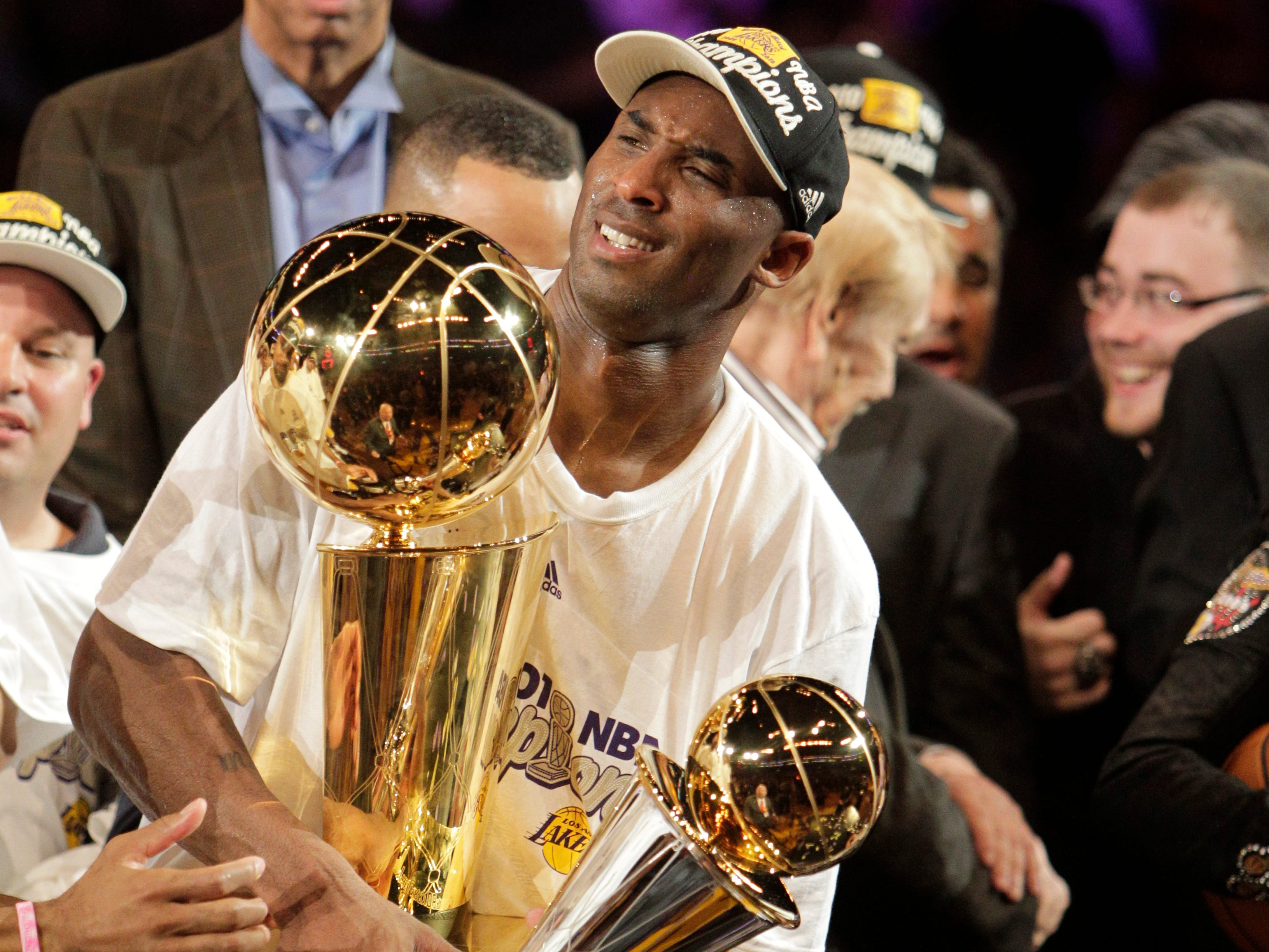Kobe's fifth and final title came in 2010, the second of back-to-back titles.