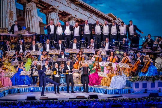 Andre Rieu at Vrijthof in Maastricht, Netherlands.