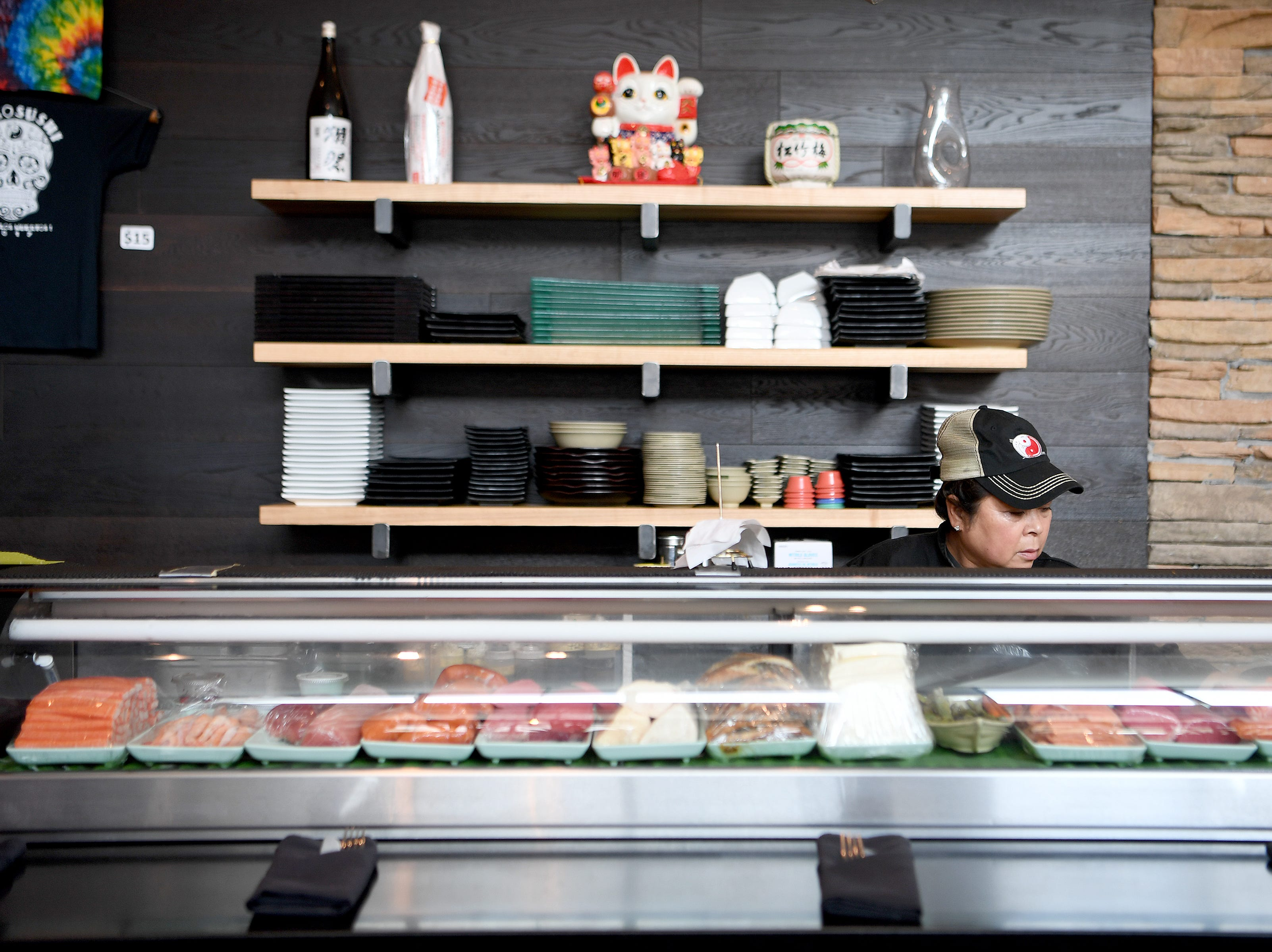 Takosushi, with the cuisine description of Far East Southwest, is now open on Asheville's South Slope.