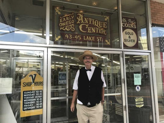 Jim Mead, owner of Early Owego Antique Center