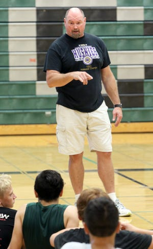 Former South Kitsap and University of Washington star Andrew Peterson is now an assistant coach at Klahowya.