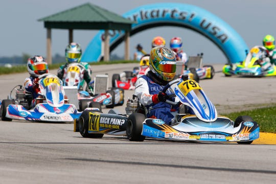 Arias Duekmedjian, 13, was named the 2018 X30 Pro Junior National Kart racing champion this month.