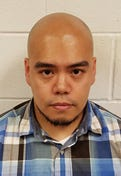 Ebert Ray Nepomuceno of Philadelphia is charged with  luring and other offenses.