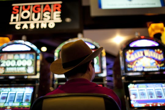 Two patrons have sued the SugarHouse casino in Philadelphia, alleging problems with shuffling machines denied gamblers an even playing field.