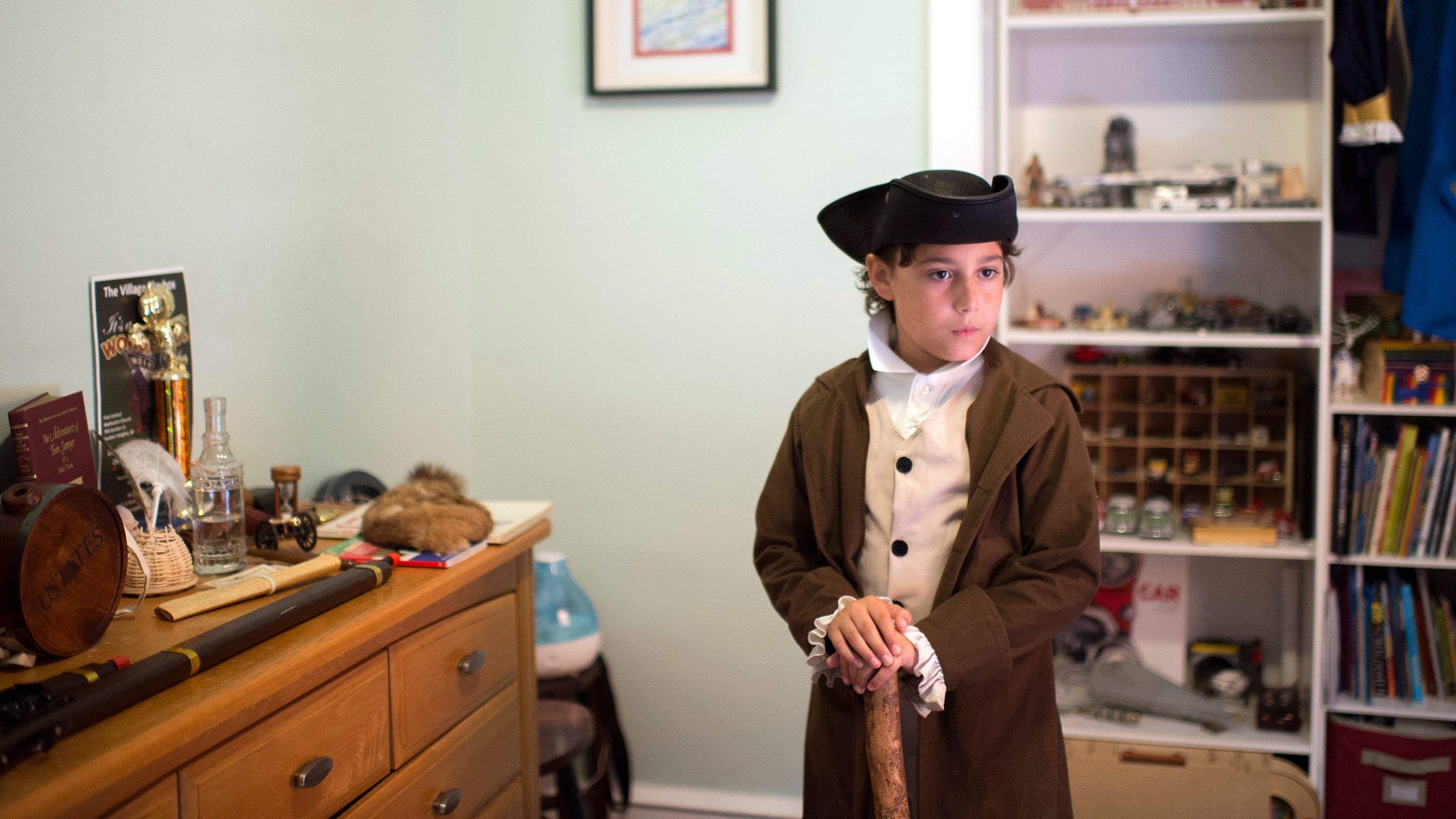 You won't believe how old this Colonial historian is
