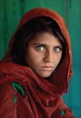 """Steve McCurry's """"Afghan Girl."""""""
