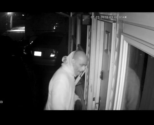 North Brunswick police are asking for the public's help in identifying a suspect in recent residential burglaries.