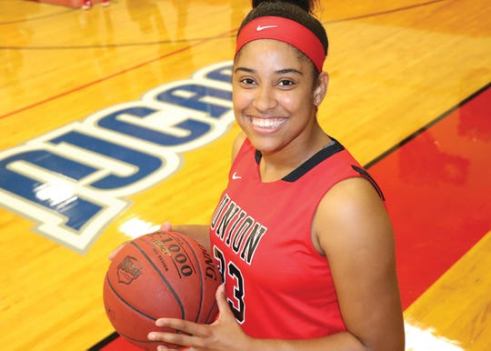 Union County College's Yamel Abreu participated in the NJCAA.WBCA star shorcase
