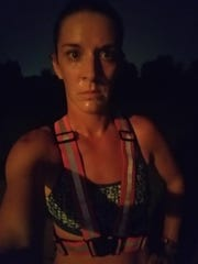 Melissa Fidone, 34, of Council Bluffs, posted a photo of herself tagged #MilesforMollie, after she went on a run on Wednesday.