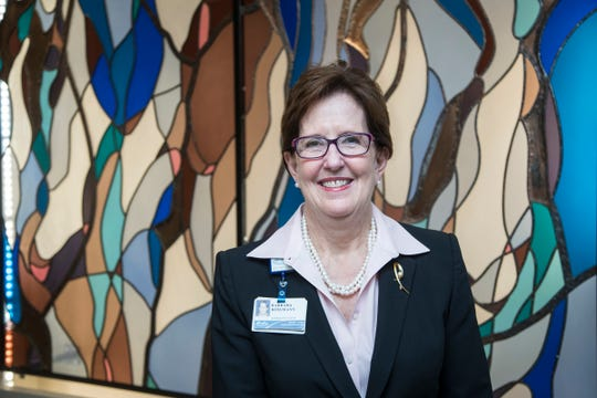 Barbara Rossmann, president and chief executive officer of Henry Ford Macomb Hospital. Rossmann is the recipient of the 2018 Eleanor Josaitis Unsung Hero Award, part of the Shining Light Regional Cooperation Awards presented by the Detroit Free Press and the Metropolitan Affairs Coalition.