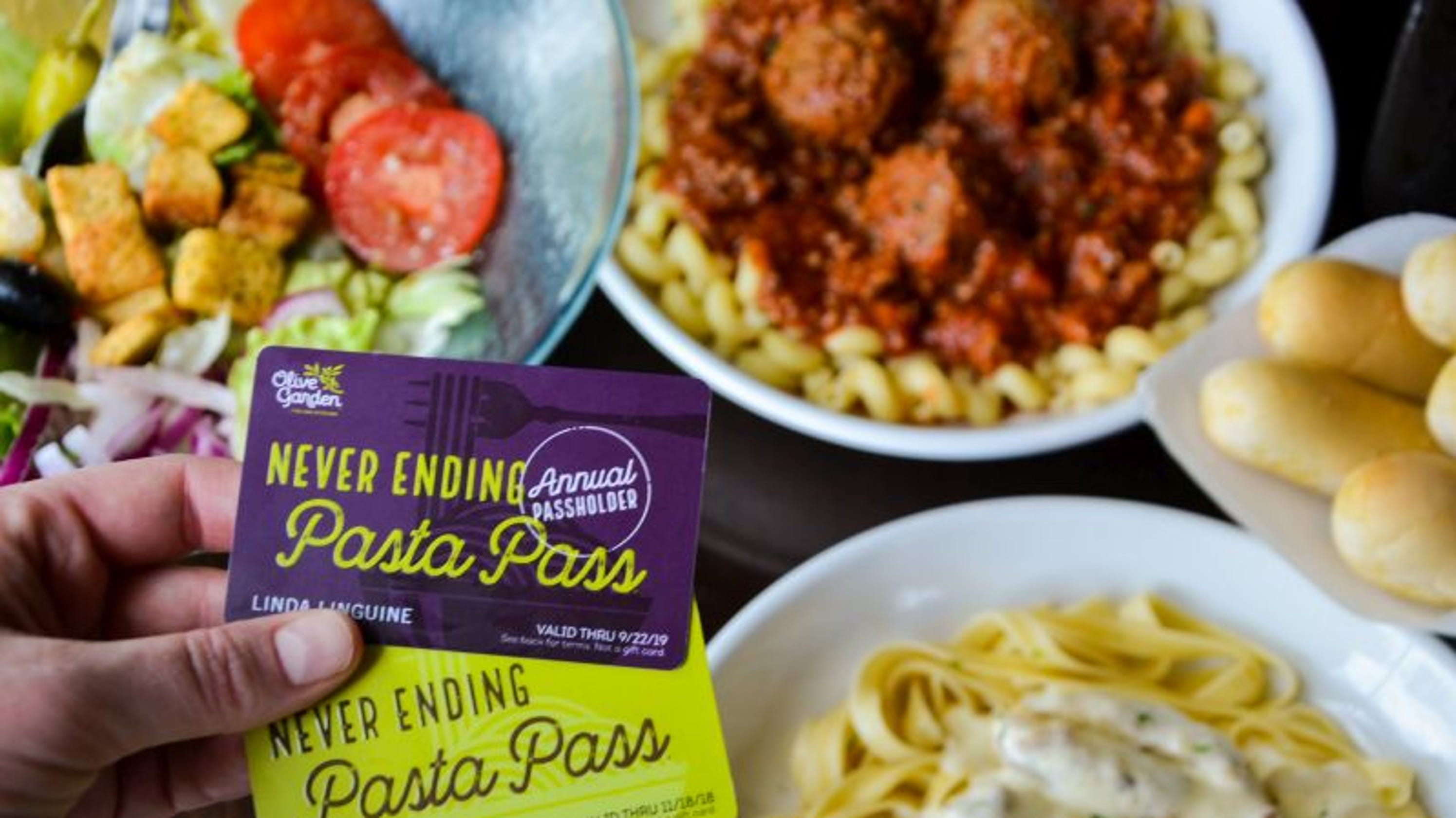 Olive garden pasta pass is it worth it - Does olive garden deliver to your house ...