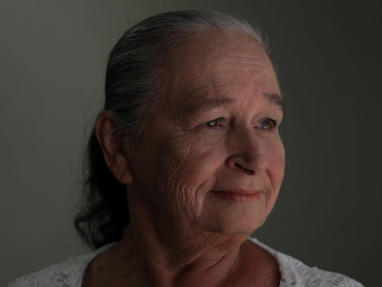 Carmen Maria Reyes, 70 of Aibonito attended a Ford Fund sponsored workshop on how to manage your emotions, helping her deal with PTSD caused by Hurricane Maria and its aftermath.