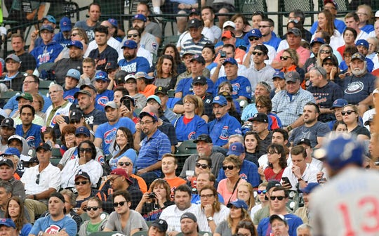Cubs fans invaded Comerica Park for an August series.