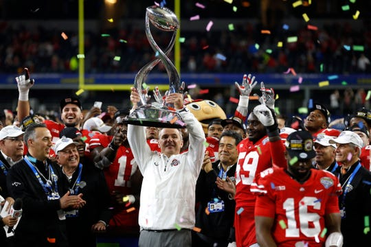 A coach less successful than Urban Meyer in the wins and losses columns likely would have faced a different outcome.