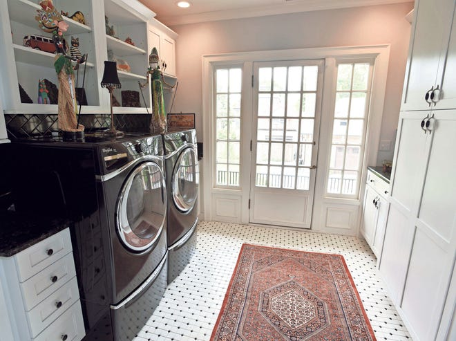 A laundry room on the second floor can be just right for your quality of life.