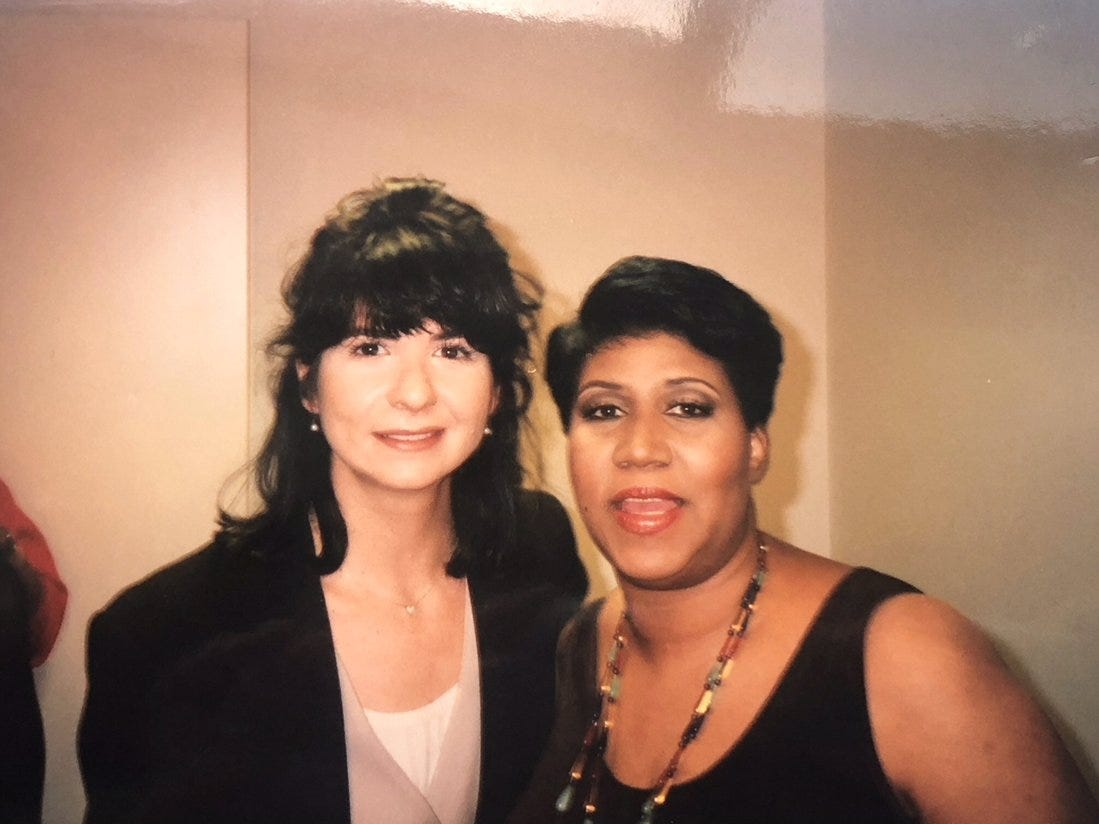 Robin Manoogian was Aretha Franklin's makeup artist 1994-2004