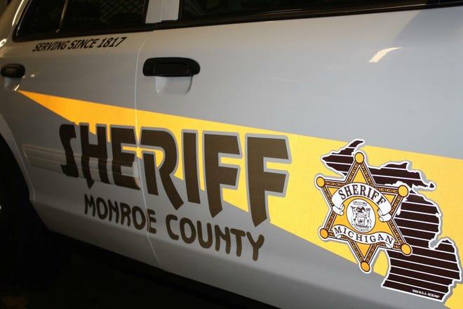 Monroe County Sheriff's vehicle