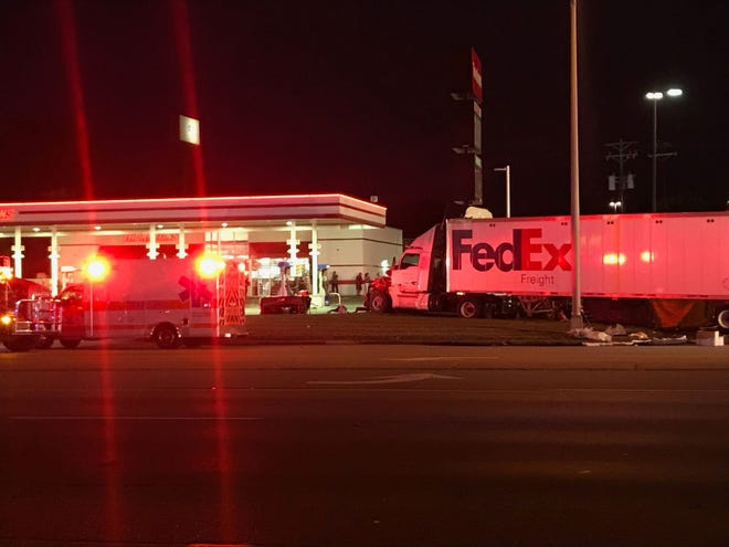 An accident involving a semi-truck and at least one other vehicle on US 41 in Henderson has claimed the life of one person Wednesday evening.