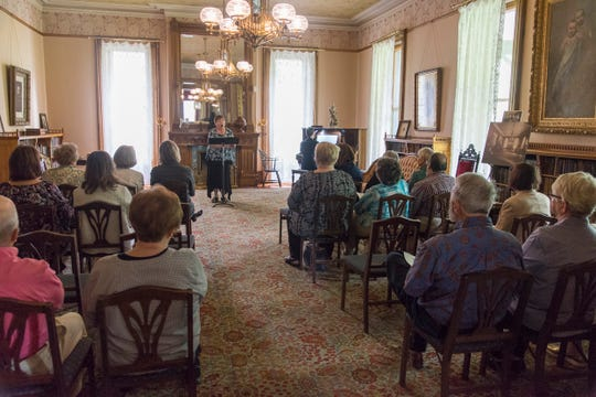 The home of Rutherford B. Hayes in Frmeont is the site of musical performances.