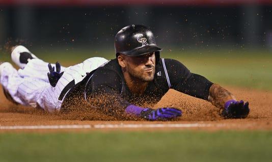 Mlb San Diego Padres At Colorado Rockies #filephoto