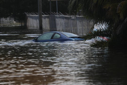 File photo of flooding in the Island Park neighborhood in 2017