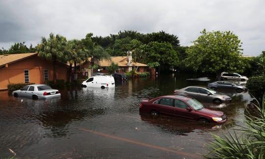 Homes and vehicles were submerged in lat August of 2017 in heavy rains over the last three days. This is in the Royal Woods community of Island Park.