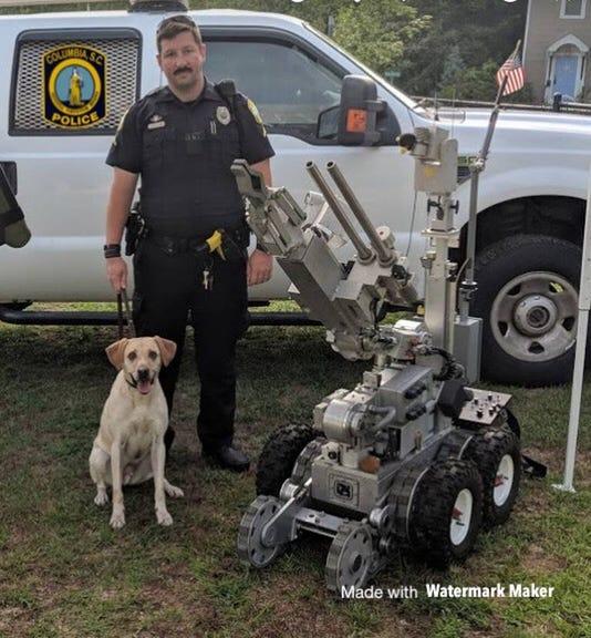 Turbo A Former Columbia Police Dog