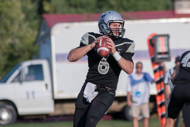 UIndy quarterback Jake Purichia