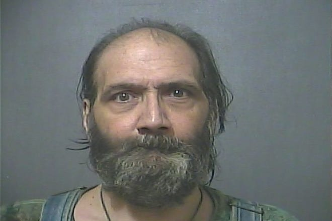 Gary Diana, 55, was arrested for allegedly threatening to shoot a visiting nurse at his home.