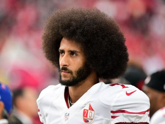 Colin Kaepernick is claiming NFL teams are colluding to keep him from playing in the league after protesting during the anthem.