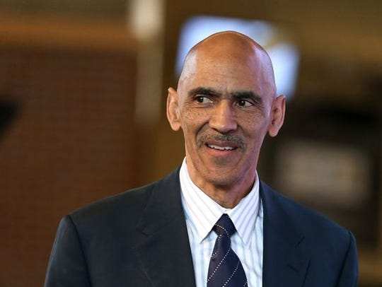 Former Colts coach Tony Dungy encouraged his players to voice their opinions to media. There wasn't just one voice coming from the locker room.