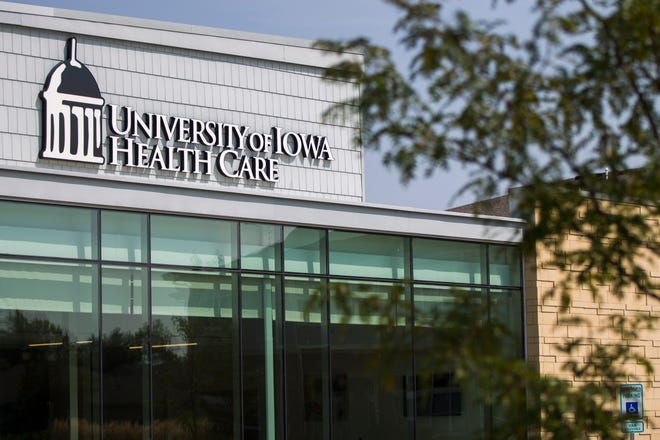 A new University of Iowa Health Care Urgent Care clinic is seen on Thursday, Aug. 23, 2018, off of Scott Boulevard and Herbert Hoover Highway on the east side of Iowa City.