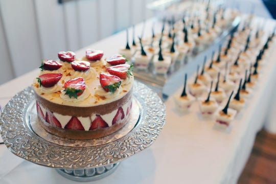 From beautiful cakes to individual treats, the desserts highlight the true skill of the the pastry chefs.
