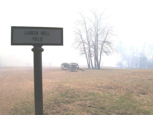 The Larkin Bell Field sign and two others were returned to Shiloh Battlefield by a young man who said he originally stole them as a prank.